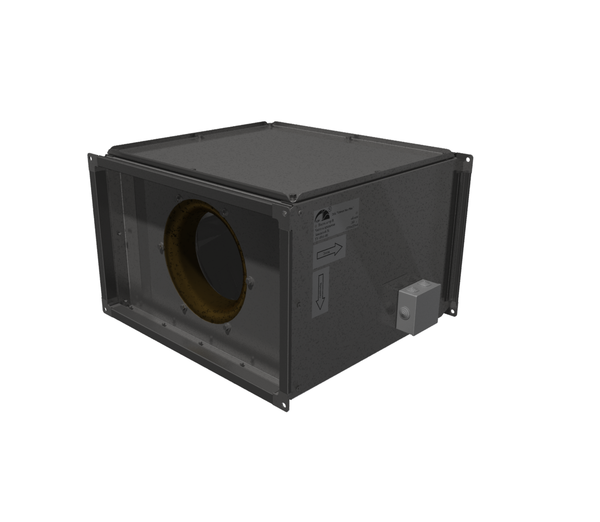 Прямоугольные канальные вентиляторы ВРПП