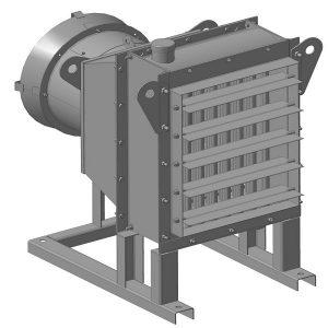 Агрегат воздушно-отопительный АО-2П