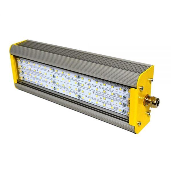 Светодиодные пожаробезопасный светильник